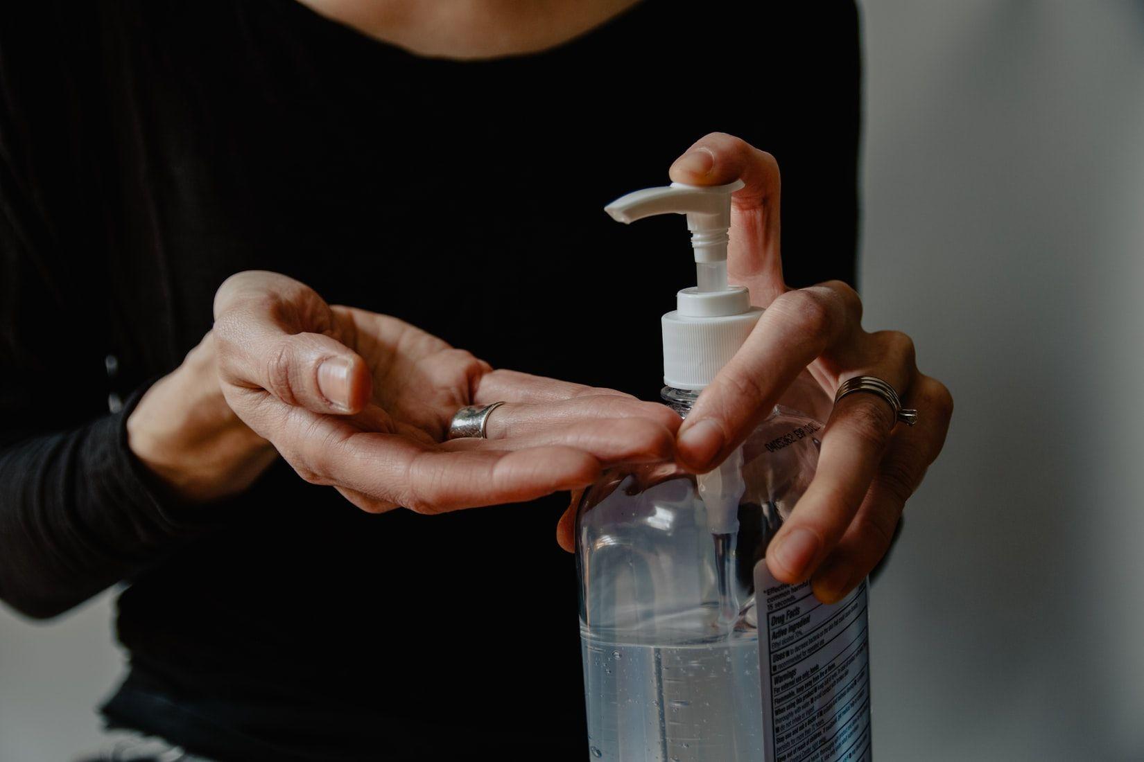 Дезинфекция рук