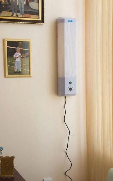 бактерицидная лампа в квартире
